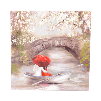 Gapstow Bridge Canvas Art Print