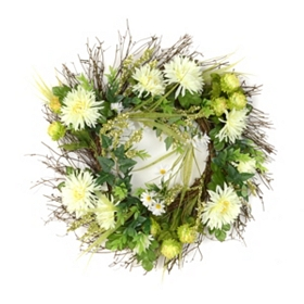Gerbera Daisy Collection Wreath