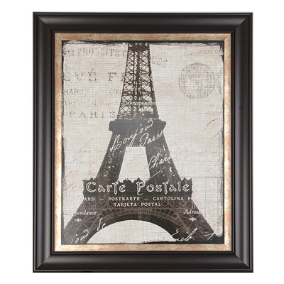 Eiffel Tower Framed Art Print