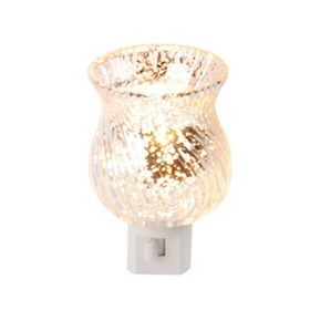 Silver Mercury Glass Night Light