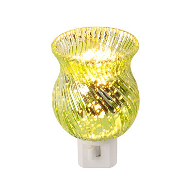 Green Mercury Glass Night Light