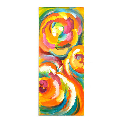 Spring Floral II Canvas Art Print