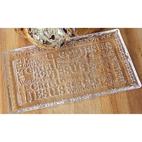 Wonderful God Glass Tray