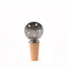 Sand Dollar Bottle Stopper