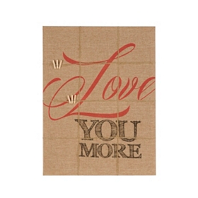 Love You More Memo Board