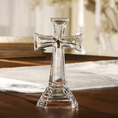 Crystal Square Edge Cross