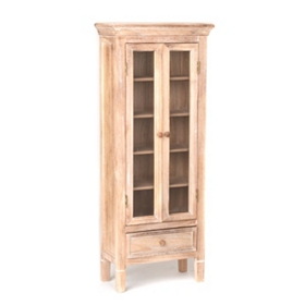 Verona Natural Wood Cabinet, 48 in.