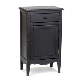 Modena Black Accent Table