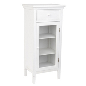 Verona White Wood Cabinet, 42 in.