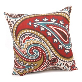 Paisley Poseidon Pillow