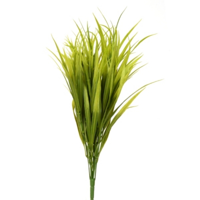 Light Green Grass Bush, 19 in.