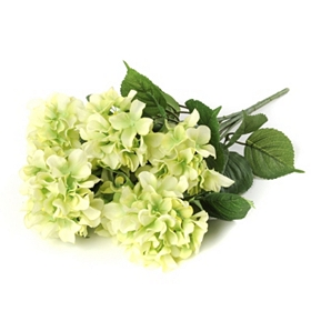 Green Hydrangea Bush, 20 in.
