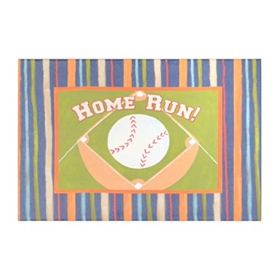 Home Run Canvas Art Print