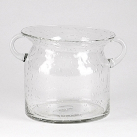 Clear Milk Jug Hurricane, 5 in.