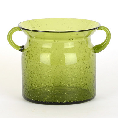 Green Milk Jug Hurricane, 5 in.