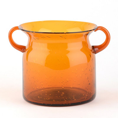 Orange Milk Jug Hurricane, 5 in.