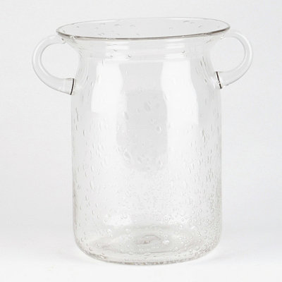 Clear Milk Jug Hurricane, 8 in.