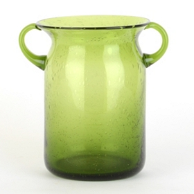 Green Milk Jug Hurricane, 8 in.