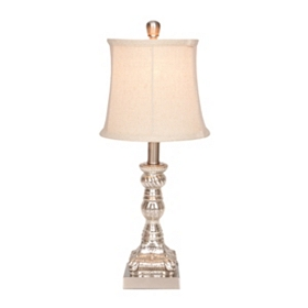 Alice Silver Mercury Glass Table Lamp