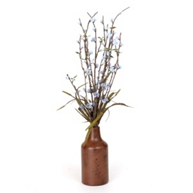 Blooming Blue Buds Arrangement