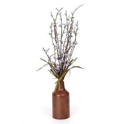 Blooming Blue Buds Arrangement