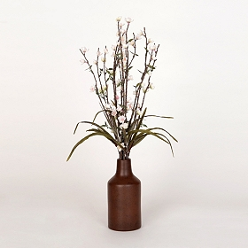 Blooming White Buds Arrangement