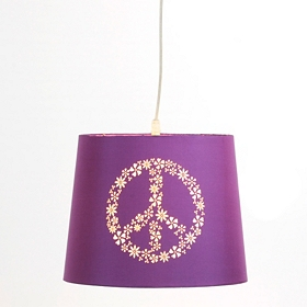 Purple Peace Pendant Light