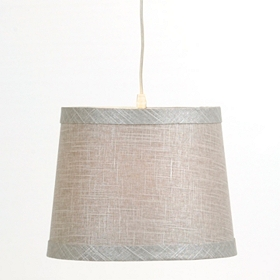 Heather Gray Pendant Light