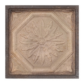 Abstract Metal Tile Wall Plaque