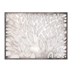 Branches Metal Wall Plaque