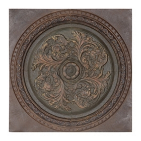 Remington Medallion Metal Wall Plaque