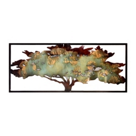 Arbol II Metal Wall Plaque