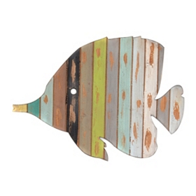 Striped Fish Wall Plaque
