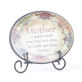 Mother Inspirational Display Plate