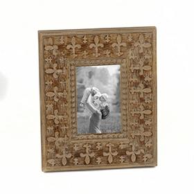 Embossed Fleur-de-lis Frame, 4x6