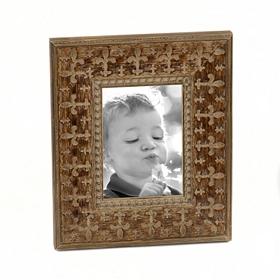 Embossed Fleur-de-lis Frame, 5x7