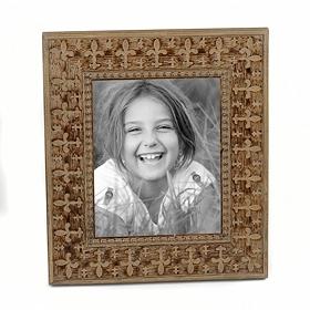 Embossed Fleur-de-Lis Frame, 8x10