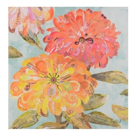 Flea Market Floral Canvas Art Print