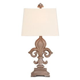 Monticello Fleur-de-lis Table Lamp