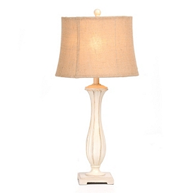 Buttermilk Candlestick Table Lamp
