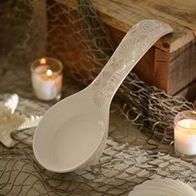 Ceramic Seashell Spoon Rest