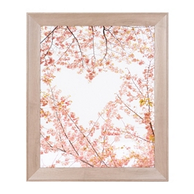 Natural Heart Framed Art Print
