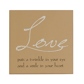 A Twinkle In Your Eye Wall Plaque