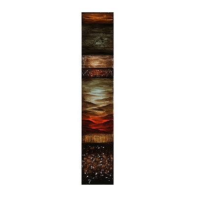 New World Abstract III Canvas Art Print