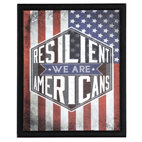 Resilient Americans Wall Plaque