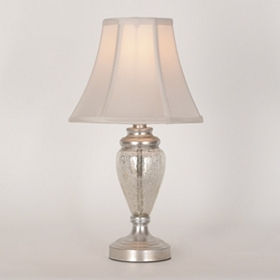 Stellar Mercury Glass Mini Table Lamp