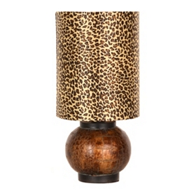Leopard Luster Mini Table Lamp