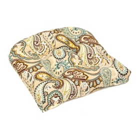 Paisley Outdoor Cushion