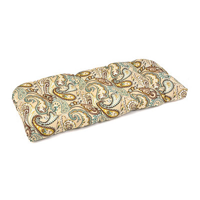 Paisley Outdoor Settee Cushion