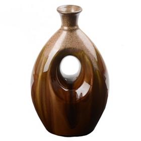 Oval Cutout Vase